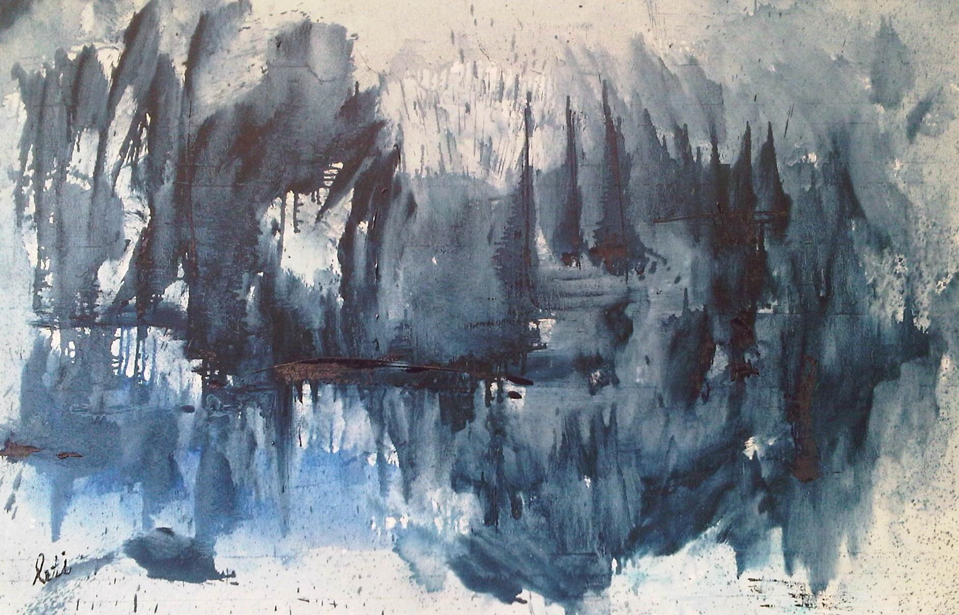 Blue Ellis 2  75x115cm  te koop
