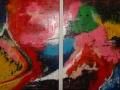 Kleur luik 2x80x60cm te koop